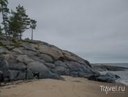 Кий-остров - из песка и камня
