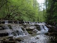 Ущелье водопадов в Краснодарском крае