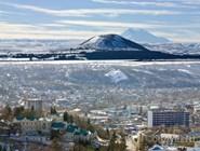 Вид на гору Машук и Пятигорск
