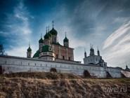 Вид на Успенский Горицкий монастырь