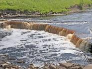 Саблинский водопад на реке Тосне