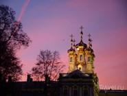 Купола церкви Екатерининского храма