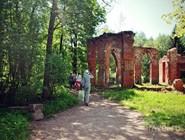 """Руины павильона """"Баболовский дворец"""", построенного для фаворита Екатерины II Григория Потемкина"""