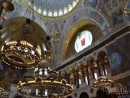Внутри Кронштадтского собора