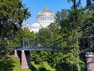 Вид на Макаровский мост и Морской собор