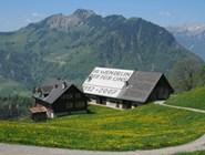 Домики в горах