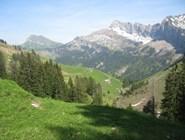 В горах Швейцарии