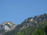 Парапланеристы в Альпах