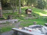Место для пикника в горах