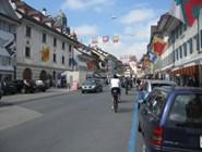 Городок Willisau - начало маршрута