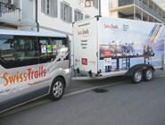 Автобус и прицеп SwissTrails