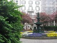 Сквер в Цюрихе