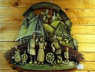Музей деревянного зодчества в деревне Лункино