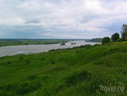 Река Ока у села Константиново