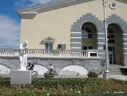 Первый корпус бальнеолечебницы, построен в 1958 г.