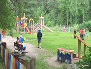 Детская площадка у санатория