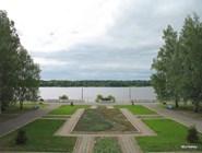 Вид на Каму из столовой санатория «Русь»