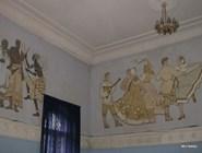Фрески советского времени в концертном зале