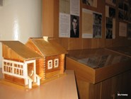 Музей Усть-Качки, макет первой «ванницы»