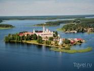 Вид на Нилово-Столобенский монастырь