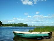 Туристы могут взять лодку  напрокат