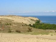 Вид с вершины одной из дюн