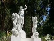 Скульптуры в парке Гаспры