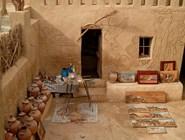 Внутренний двор музея и студии Бадра, Фарафра