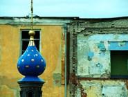 Часовня на месте обретения иконы Казанской Божьей Матери