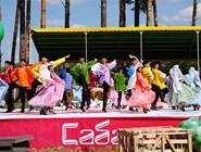Танцы на главной сцене Сабантуя