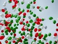 Воздушые шарики цветов Татарстана