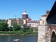 Вид с моста Ponte Coperto