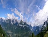 Панорама долины Вальтеллина, вид из Сондрио