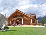 Лыжная станция и ресторан Haunoldhutte летом