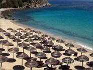 Песчаный пляж, остров Миконос, Греция