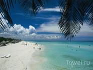 Белый песчаный пляж, Куба