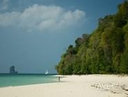 Белый песчаный пляж, Краби, Таиланд