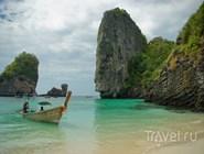 Белый песчаный пляж, Ко-Пода, Таиланд