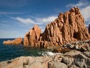 Каменистый берег, Сардиния