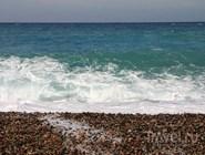 Галечный пляж, Корсика