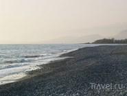 Мелкогалечный пляж, Сухум, Абхазия