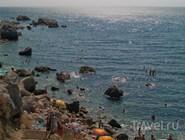 Каменистый пляж, Кастрополь, Крым
