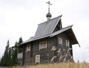 Церковь в деревне Черная речка