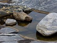 Каменные узоры, остров Касьян