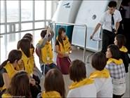 Будущие стюардессы