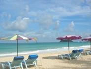 На пляже Карон