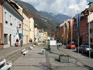 Главная площадь в Obervellach