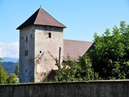Замок Hochosterwitz в городе Санкт-Файт-ан-дер-Глан