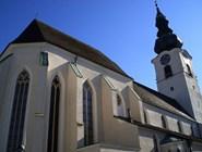 Церковь Stadtpfarrkirche в Вельсе