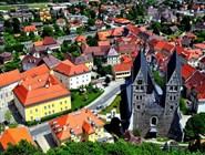 Средневековый центр города Фризах